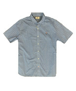 Psycho Bunny Darwell SLIM FIT Short Sleeve Sport Shirt (CHECK MEASURMENT... - $73.26