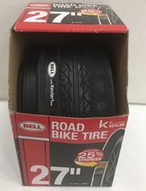 """Bell 27"""" Road Bike Tire with Kevlar, 27"""", fits widths 1-1/4"""" to 1-3/8"""", NEW - $22.43"""