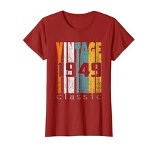 Uncle Shirts -   Vintage Classic 1949 Shirt 69th Birthday Gifts 69 Years Old Wow image 1