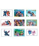 9 Lilo and Stitch Stickers, Birthday Party Favors, Labels, Decals, Rewards - $8.99