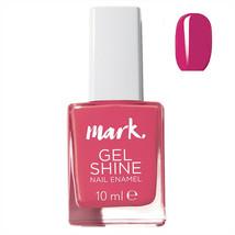 AVON Mark Gel Shine Berry Me Nail Enamel 10 ml New Boxed Rare Discontinued - $6.26