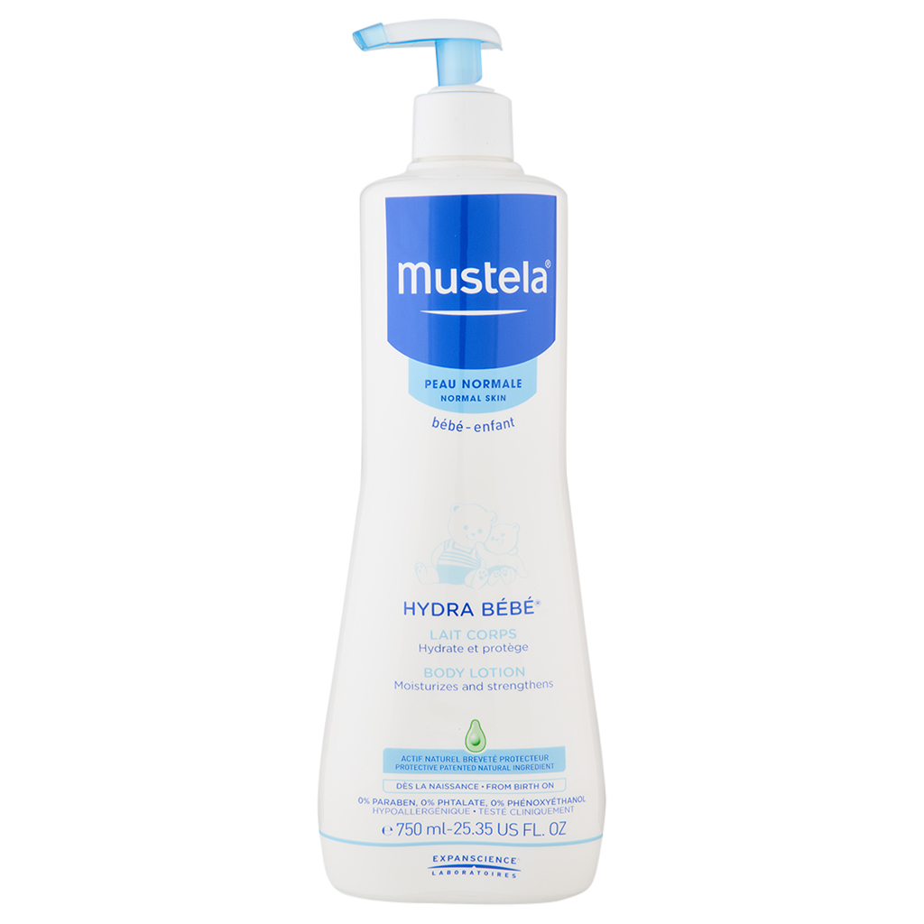 Primary image for Mustela Hydra Bebe Body Lotion 25.35 oz / 750 ml