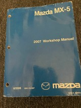 2007 Mazda MX-5 MX5 MIATA Service Shop Workshop Repair Manual OEM Worn - $118.75
