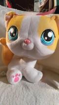 Littlest Pet Shop Bobble Head Kitty, Hasbro 2005, Stuffed Body - $5.49
