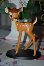 Extremely Rare! Walt Disney Bambi Standing Small Figurine Statue - $102.01