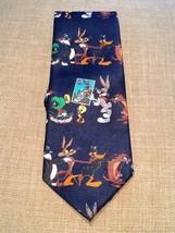 Looney Tunes Stamp Collection Mens Necktie Neck Tie - Bugs Bunny & characters - $7.95