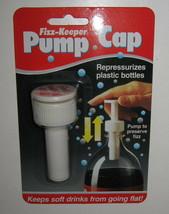 Fizz-Keeper Pump Cap Re-pressurizes Plastic Pop Liter Bottles Jokari Mor... - $76,26 MXN
