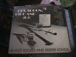 NEW Rare Blues Jazz LP Record 14 Reefer Songs Pot Spoon Pipe Jug Stash R... - $39.59