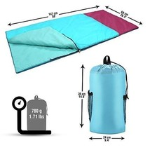 Kids Sleeping Bag With Backpack Polyester Ultralight Waterproof Camping ... - $33.94