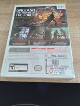 Nintendo Wii Star Wars: The Force Unleashed - COMPLETE image 3