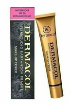Dermacol Make-up Cover Shade 212 Water-Proof Hypoallergenic for all Skin... - $8.90