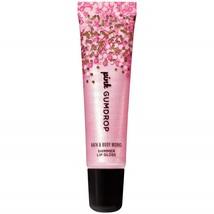 Bath and Body Works PINK GUMDROP Shimmer Lip Gloss 0.47 Fluid Ounce - $33.61