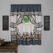 Achim Home Furnishings Chateau Window Curtain Cottage Set, 57 inch x 36 inch, Na - $33.01+