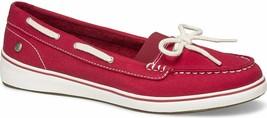 Grasshoppers Women's Augusta Twill Sneaker 5.5M Red NEW - $56.41