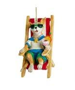 Dog in Beach Chair Ornament - £14.29 GBP