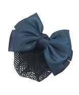 3PCS Women's Snood Net Bow Barrette Hair Clip Bun Cover Hair Accessories... - £15.24 GBP