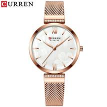 CURREN Watches Women's Simple Fashion Watch Ladies Wristwatch Charm Bracelet Sta - $51.26