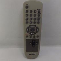 Sanyo Silver Grey VCR Remote Control - $7.39