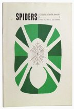 Spiders. Cornell Science Leaflet, Vol. 60, No. 1 (October 1966) [Paperba... - $6.29