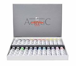 Shinhan Art Professional Acrylic Color Set 24 Colors 20ml