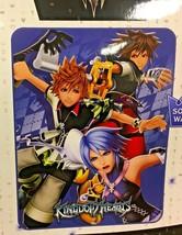 "Disney Square Enix Kingdom Hearts 46"" X 60"" Throw Blanket Sora Riku Roxas - $39.59"