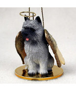 CAIRN TERRIER ANGEL DOG CHRISTMAS ORNAMENT HOLIDAY Figurine Statue Gray - $14.99
