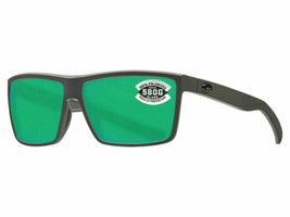 Costa Del Mar Rinconcito Sunglasses RIC-98-OGMGLP Grey Green 580G Polarized - $178.19