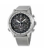 -NEW-Citizen Navihawk Atomic Timkeeping Eco-Drive Watch JY8030-83E - $372.22