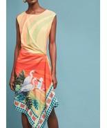 Anthropologie Vibrant Bird Dress by Eva Franco Sz 2 - NWT - $117.80