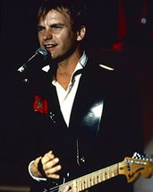 Sting 1980's black suit with guitar 16x20 Canvas Giclee - $69.99