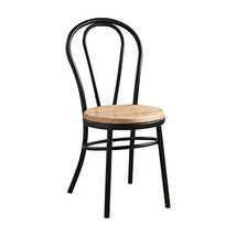 Acme Furniture 96815 Carys Black And Natural Side Chair (Set Of 2) - $462.19