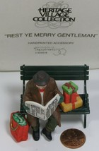Department 56 Heritage Village Collection Rest Ye Gentleman #5540-9 - $13.99