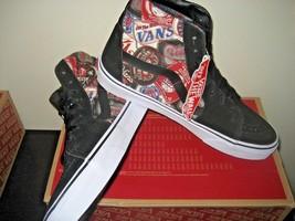 shoes Canvas Hi Vans Skate True Mens Suede White Size Black Sk8 Labels 11 NWT Tq0vw