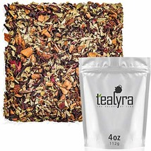 Tealyra - Senna Quick Cleanse - Detox Blend - Hibiscus - Rosehip - Pomegranate -