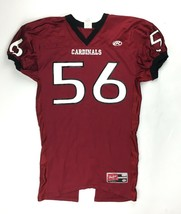 Rawlings Cardinals Performance Football Jersey #56 Men's 2XL Maroon Black - $22.51