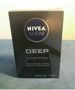 Nivea Men Deep Comforting Post Shave Lotion 3.3 fl oz New - $14.85
