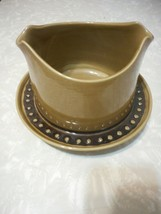 Gravy Boat with Attached Underplate Tahiti by FRANCISCAN - $16.82