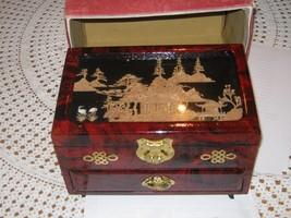 jewlery box  great shape  cool inlay - $36.12