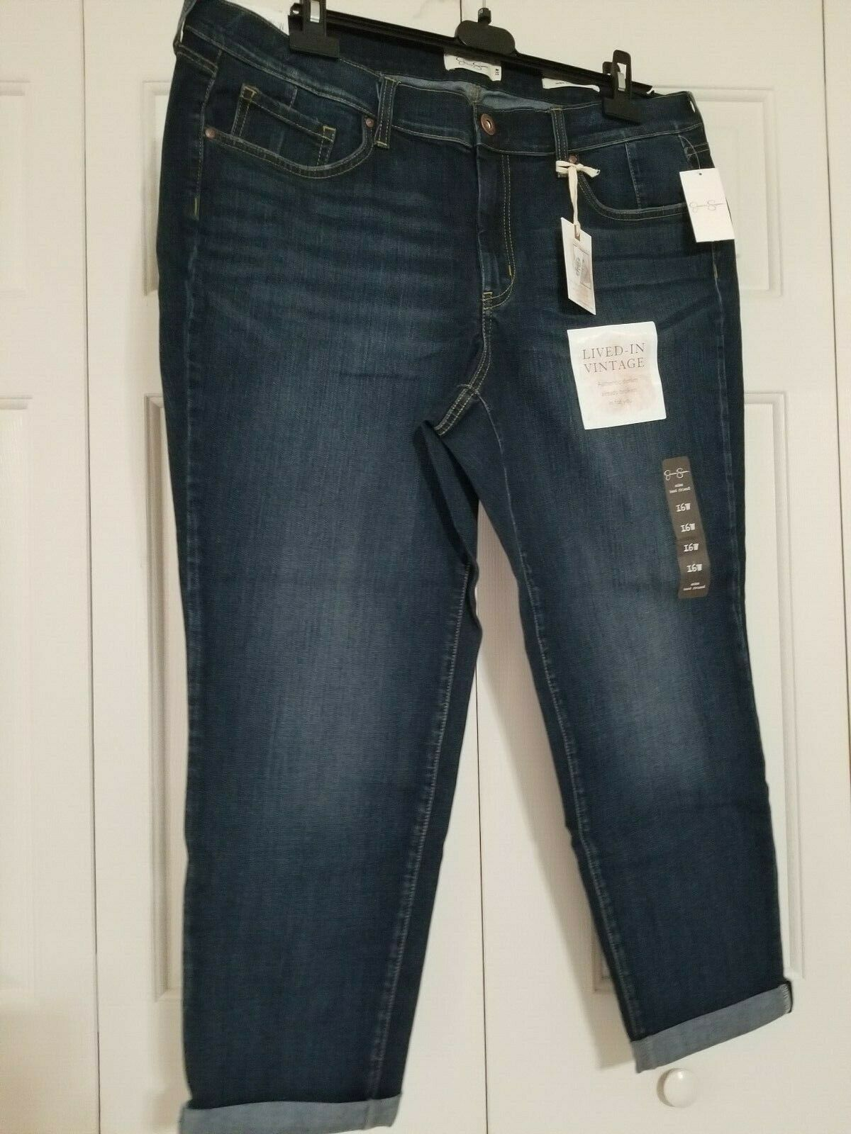 Dia & Co Jessica Simpson Mika Best Friend Jeans Size 16W NWT