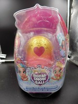 Hatchimals Pixies Royal Snow Ball Pink Egg Figure w Accessories DMG PACKAGE A261 - $15.99