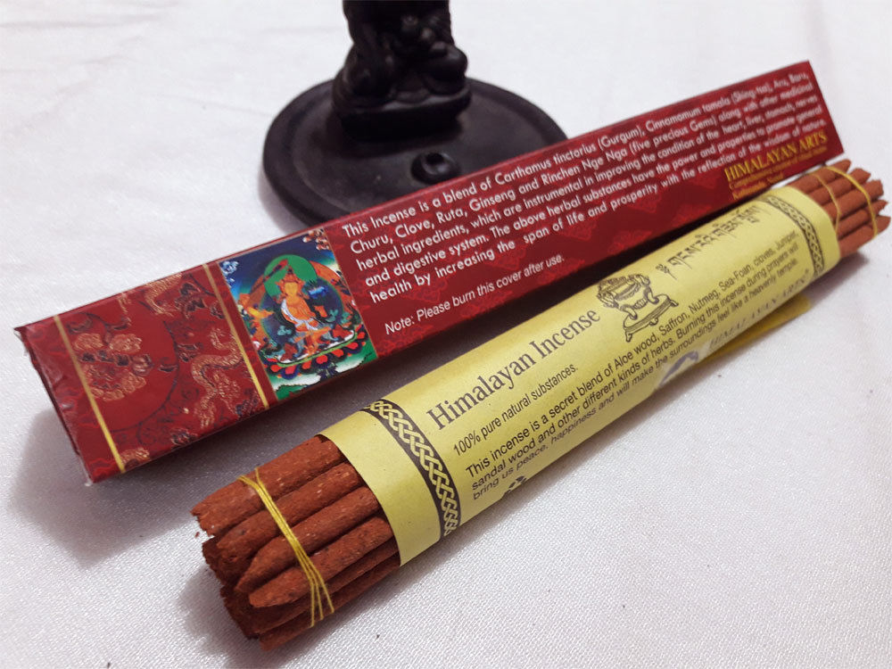 Manjushree  Himalayan Ancient Tibetan Prayer Incense