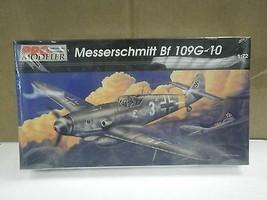 NEW MODEL- PRO MODELER- 5940 MESSERSCHMITT BF 109G-10- 1:72- NEW- W54 - $17.46