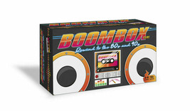 Brand NEW Sealed BoomBox Game age Rewind to the 80's and 90's Card Game - $15.68