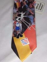 NWT 1994 U.S. World Cup Of Soccer Ralph Marlin Necktie Official Product - $29.69