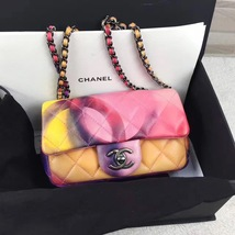 AUTHNTIC CHANEL LIMITED EDITION LAMBSKIN QUIILTED MINI FLOWER POWER FLAP BAG image 2