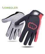 Men Women Winter Cycling Gloves Full Finger Bicycle Glove Anti Slip Gel ... - $11.24