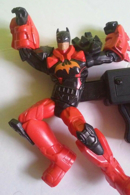 2013 Mattel DC Batman Deluxe Combat Staff Batman Spinning Figure