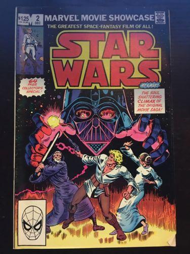 Marvel Movie Showcase Featuring Star Wars (1982) #2 VF Very Fine Marvel Comics