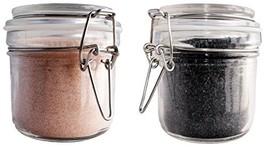 Gourmet Himalayan & Hawaiian Black Lava Sea Salt Gift Set Fine - 8oz Eac... - £33.65 GBP