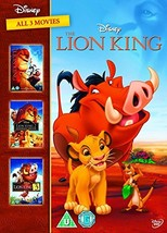 The Lion King 1-3 Boxset Spain - Importation - $46.51